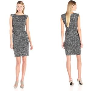 Vince Camuto Embellished Shoulder Sheath Dress 4